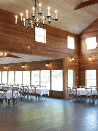 WindSong Barn interior