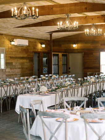 WindSong Barn's sunroom by Holly Marie Photography