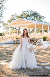 Our December Bride at WindSong Pavilion