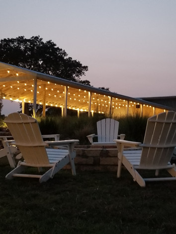 Fir Pit at WindSong event venue in Dripping Springs: The Alexander at Creek Road