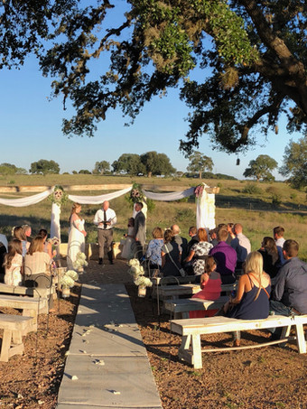 Meadow View: Seating for 125 at our outdoor presentation space