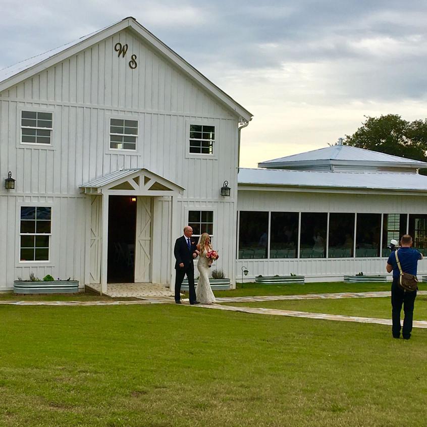 White Barn Wedding in Austin, Texas