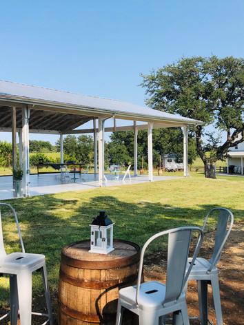 Pavilion & Cocktail Courtyard