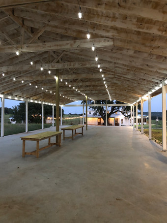Open Air event Space at WindSong Pavilion is magical!