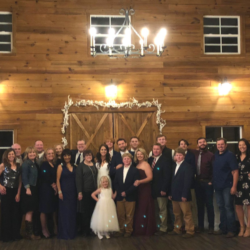 Family Wedding Weekend in Central Tx