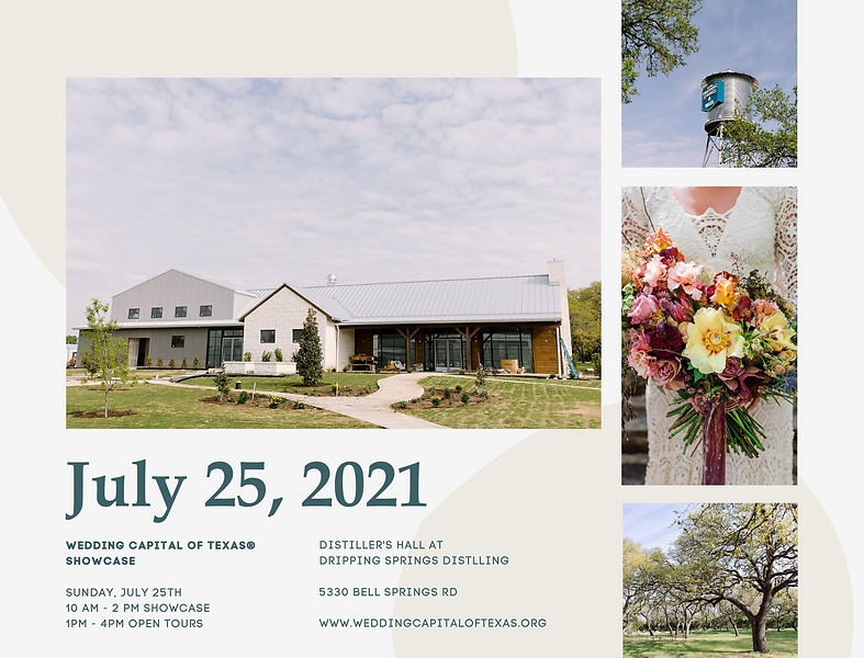 Wedding Venue Open House July 25 2021 Dripping Springs