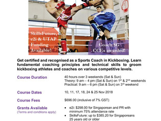 Take your Kickboxing Coaching Career to the Next Level