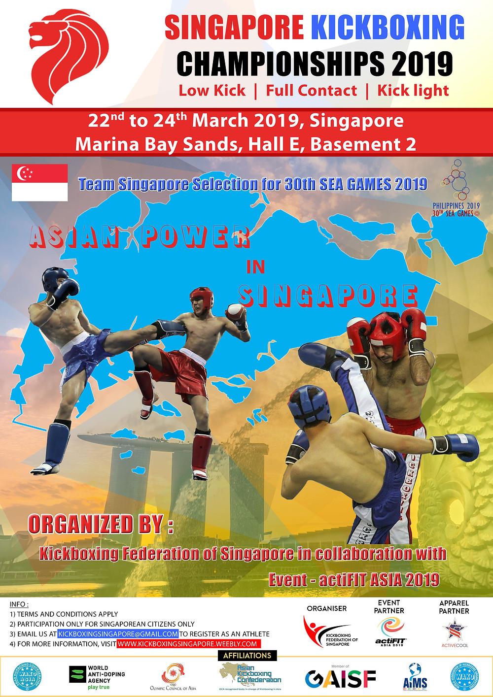 Singapore Kickboxing Championships 2019