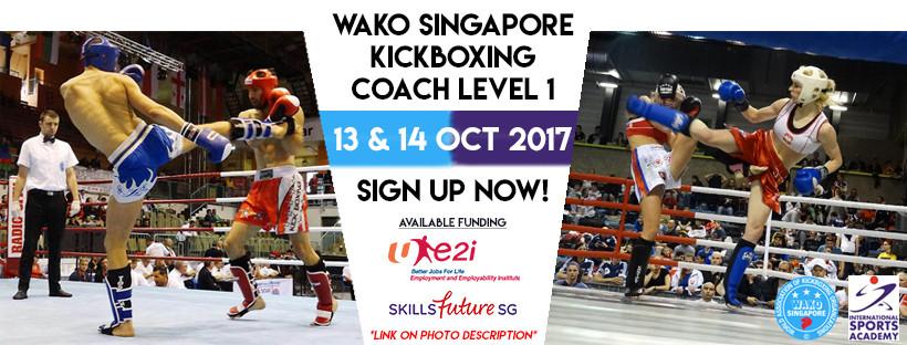 WAKO Singapore: Kickboxing Coaching Course