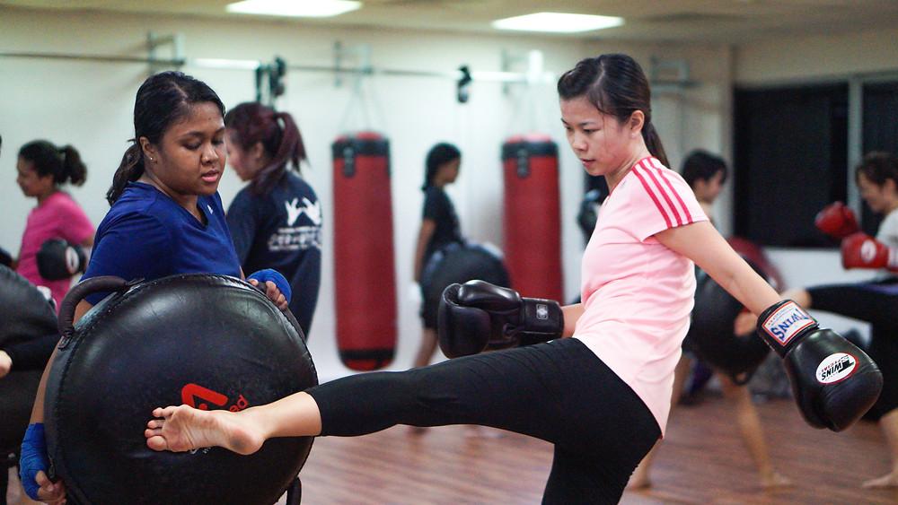 WAKO Singapore: Kickboxing for general fitness
