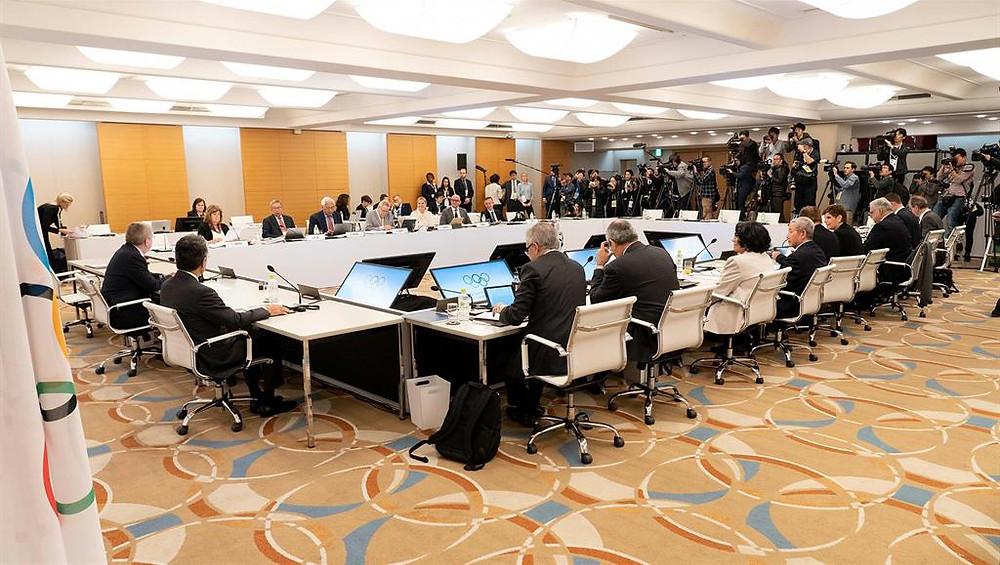 IOC Executive Board Meeting held on 30 Nov 2018 (WAKO Kickboxing Singapore Blog)