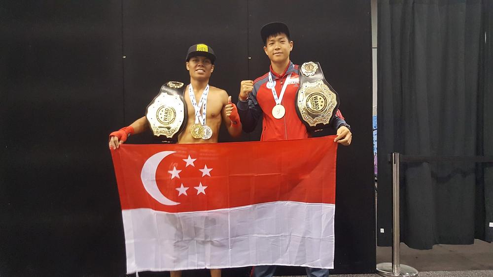 WAKO Singapore - 2017 WAKO Oceanic K1 Kickboxing Champions