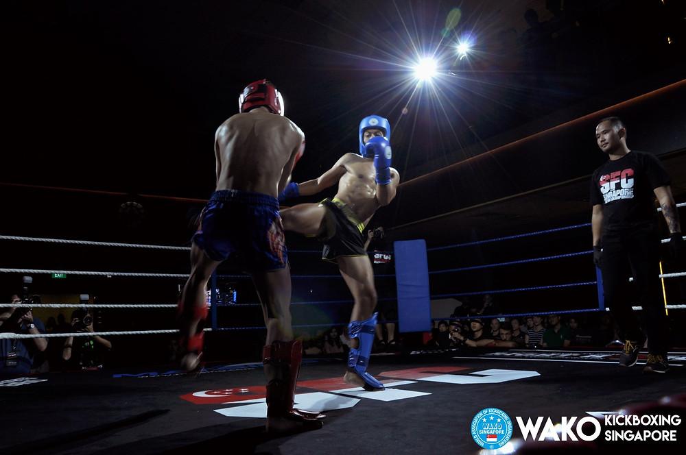 WAKO Singapore - Low Kick