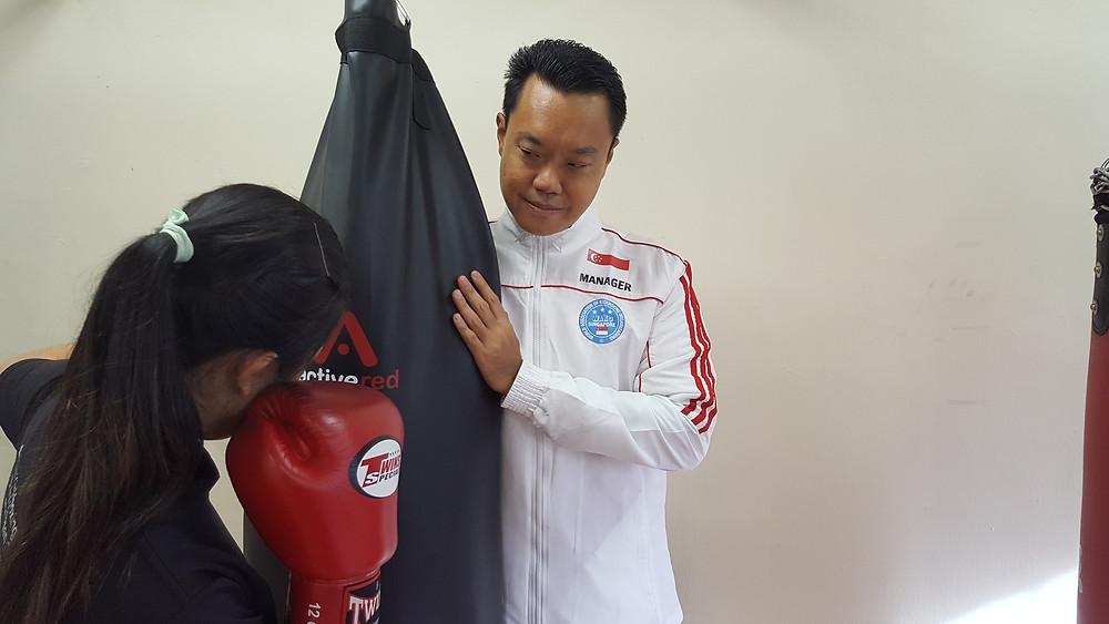 WAKO Singapore - Singapore Kickboxing Coach