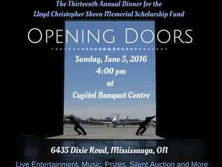 Opening Doors - 2016 Annual Dinner