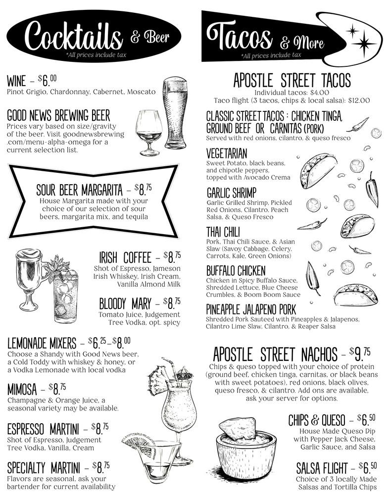 Tacos & Cocktails