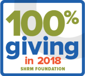 South Dakota SHRM part of the 100% Giving Club!