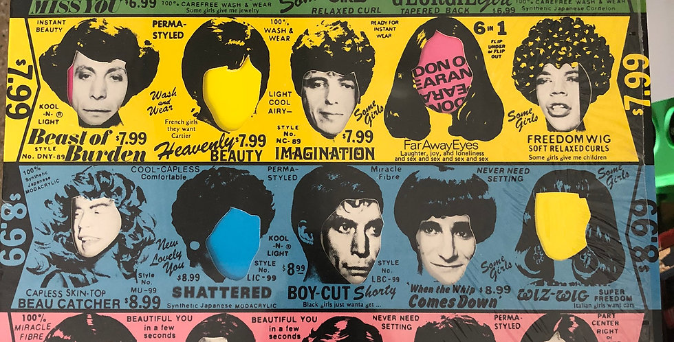 Rolling Stones Some Girls Shrink Wrap