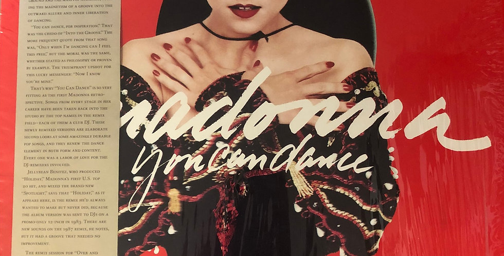 Madonna You Can Dance Vinyl EP Shrink Wrap