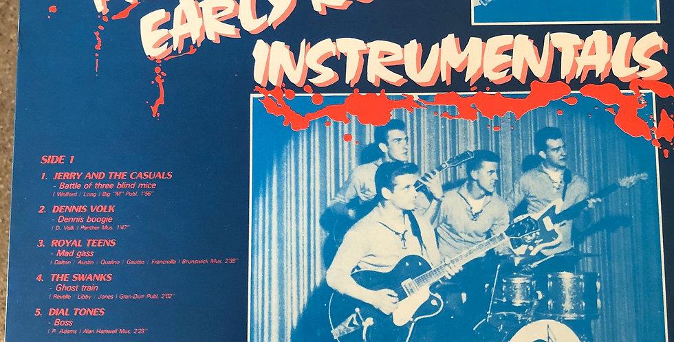 Rare Wild Primitive Early Rock Instrumentals Vinyl LP