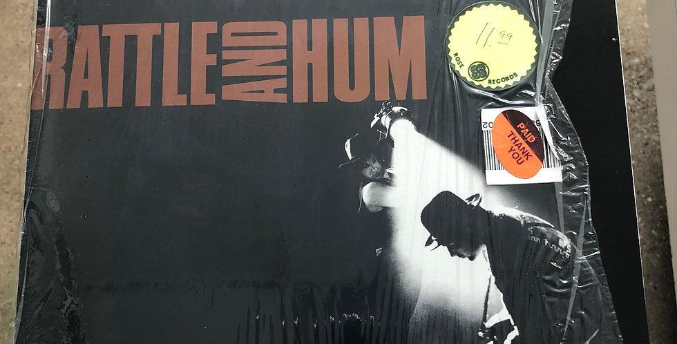 U2 Rattle and Hum Vinyl LP Shrink Wrap