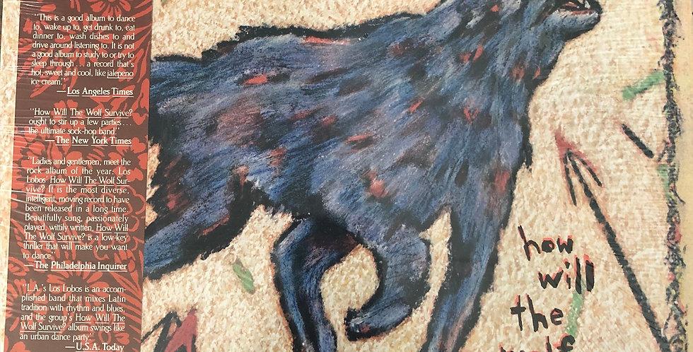 Los Lobos How Will the Wolf Survive Vinyl LP Shrink Wrap