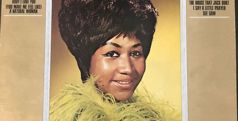 Aretha Franklin Aretha's Gold Vinyl LP