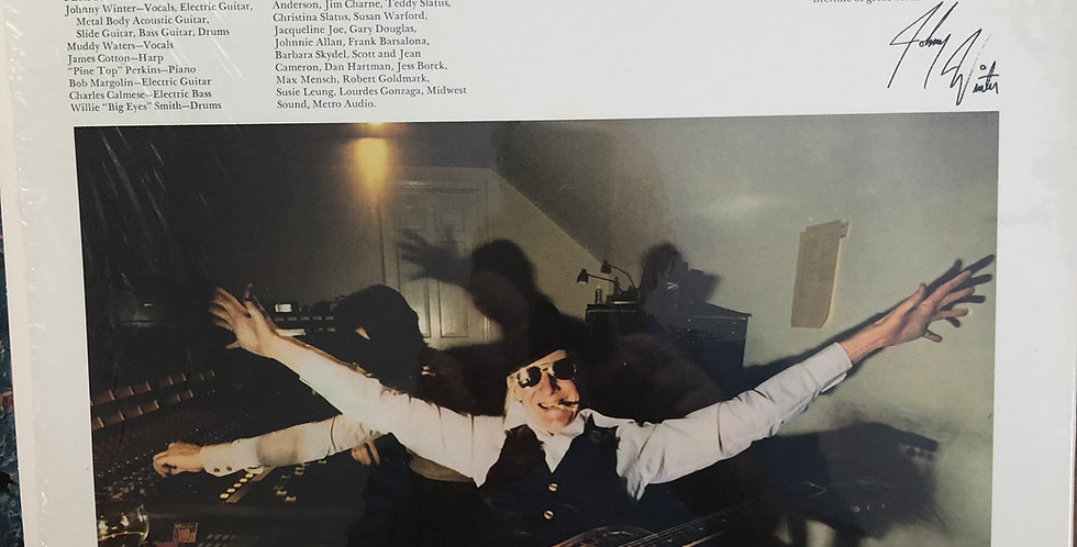 Johnny Winter Nothin' But the Blues Vinyl LP