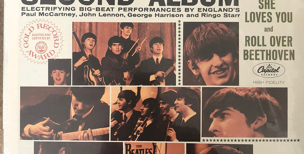 Beatles Second Album SEALED
