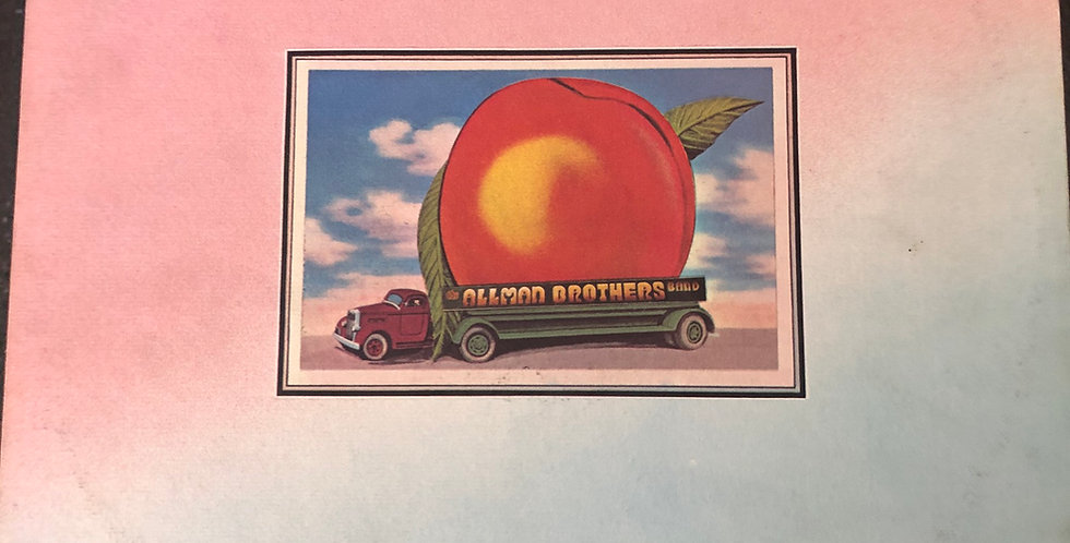Allman Brothers Eat a Peach Double Vinyl LP with Insert