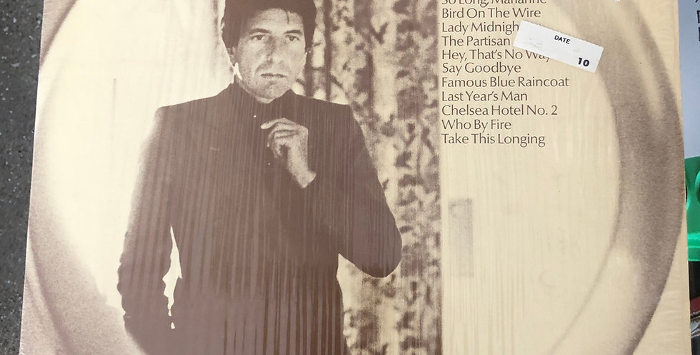Leonard Cohen The Best of Vinyl LP Shrink Wrap