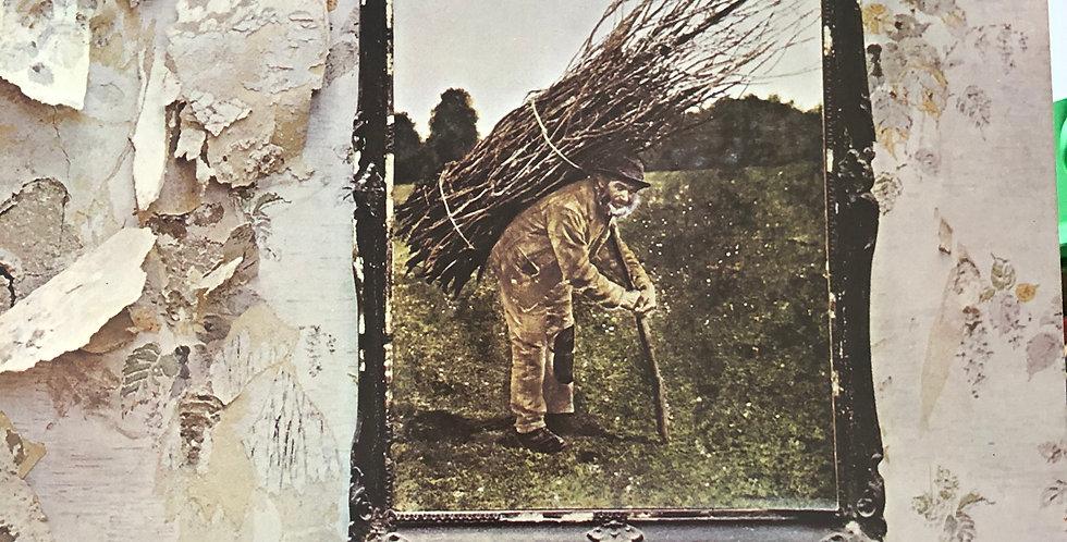Led Zeppelin  Untitled Zoso (Stairway to Heaven) Vinyl LP