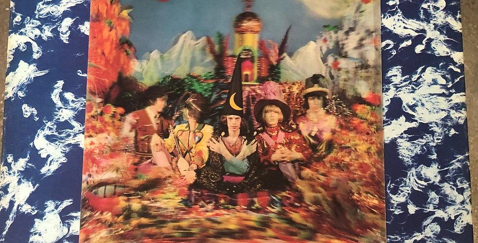 Rolling Stones Satanic Majesties Request LP Lenticular