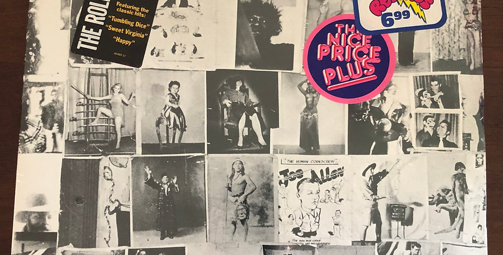 Rolling Stones Exile on Main Street Vinyl LP SEALED