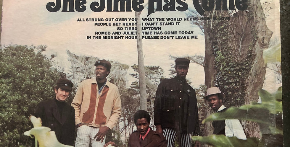 Chambers Brothers Time Has Come Today Vinyl LP Shrink wrap