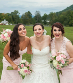 Faith and Jamie's wedding
