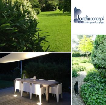 Jardin Contemporain et de Style