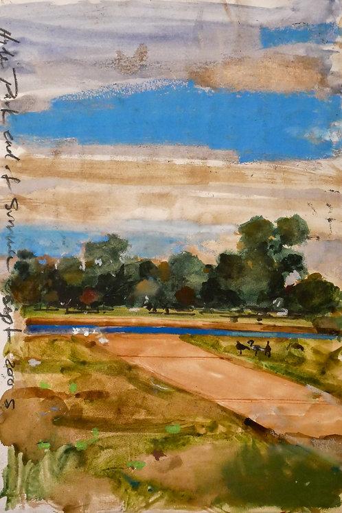 Hyde Park end of summer -H.Craig HANNA