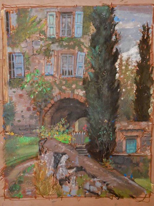Landscape & House-H.Craig HANNA
