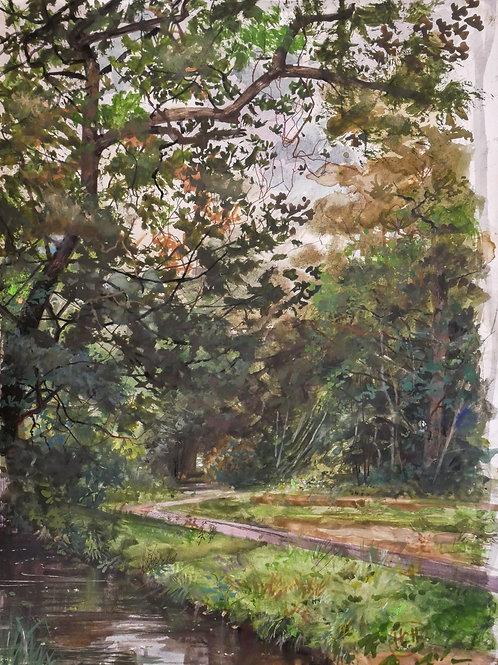 Chemin et Ruisseau - H. Craig HANNA