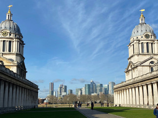 Old Royal Naval College buildings - open to the public for free