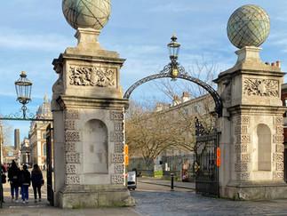 Entrance gates to Greenwich Park