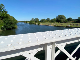 Whitchurch Bridge looking downstream