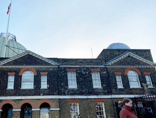 The Royal Observatory at the top of Greenwich Park