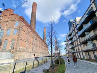 Once completed there will be more than 700 new homes, including 2 tower blocks