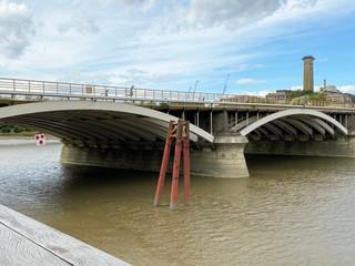 Grosvenor Bridge AKA Victoria Railway Bridge from Battersea Power Station