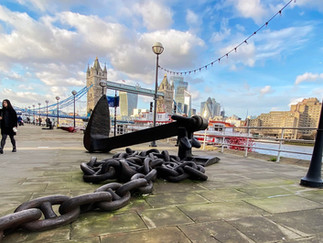 That's a big anchor!