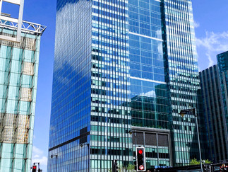 Barclays HQ at One Churchill Place. I worked for them for 40 years!