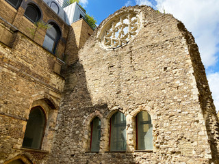Remains of Winchester Palace