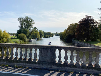 The view downstream from Wallingford Bridge